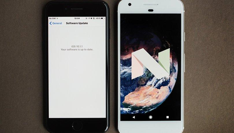 Android 7.1 Nougat vs iOS 10: Comparativa de funciones