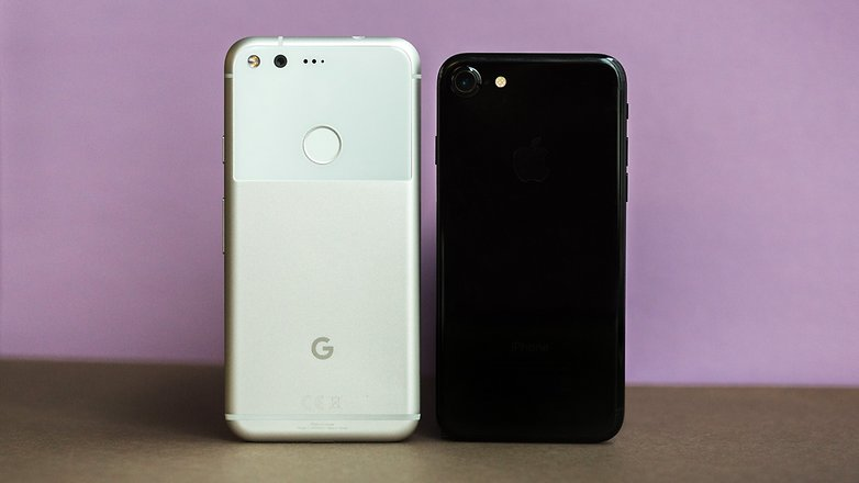 AndroidPIT iphone 7 vs google pixel 0833