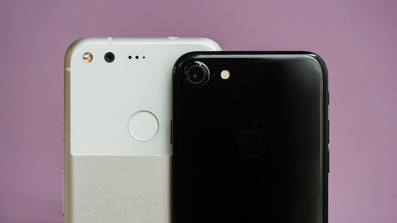 AndroidPIT iphone 7 vs google pixel 0835