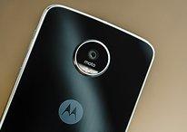 Este é o Moto Z Play rodando com Android Nougat