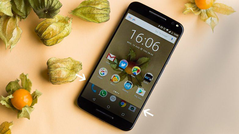 AndroidPIT moto x style screen software bug 6813
