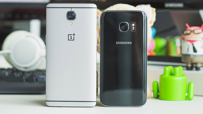 AndroidPIT oneplus 3 vs samsung galaxy s7 8787