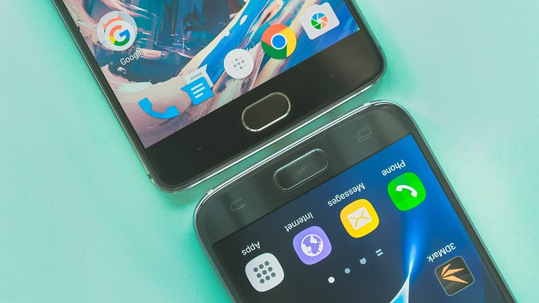 AndroidPIT oneplus 3 vs samsung galaxy s7 8792