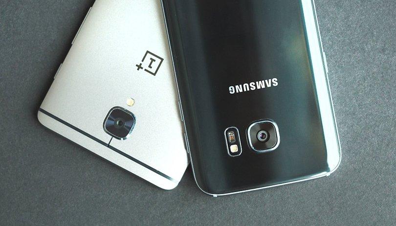 OnePlus 3 vs Galaxy S7 comparison: killer flagships