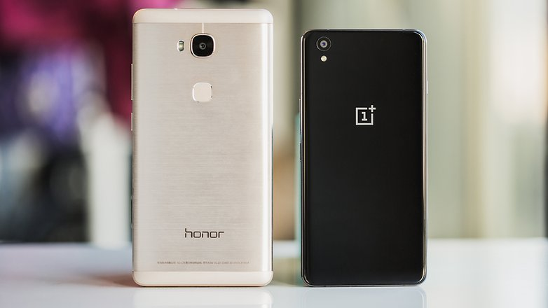 AndroidPIT honor 5x vs oneplus x 6