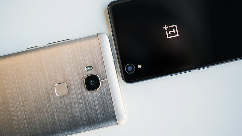 AndroidPIT honor 5x vs oneplus x 7