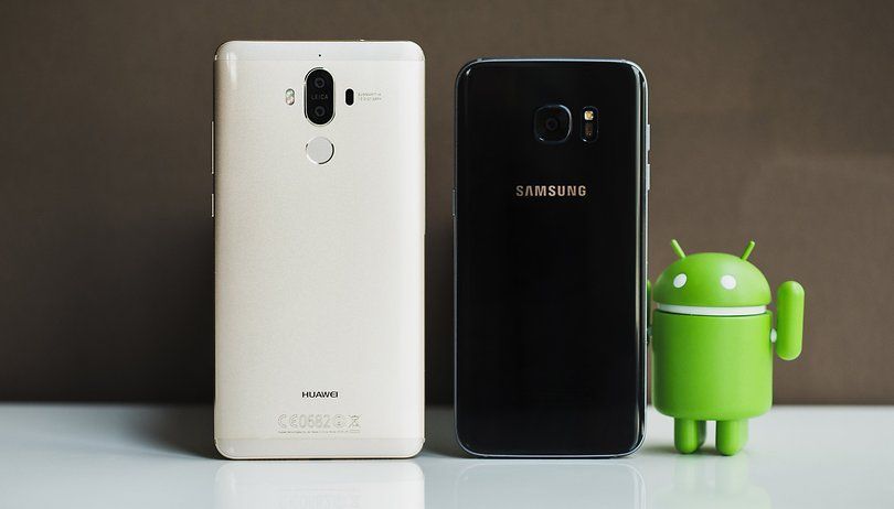 Huawei Mate 9 vs Samsung Galaxy S7 Edge: not always better