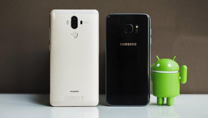 Mate 9 vs Galaxy S7 Edge: il Huawei non sempre supera il Samsung