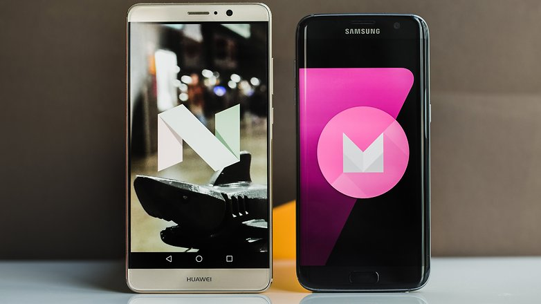 AndroidPIT huawei mate 9 vs samsung galaxy s7 edge 1223