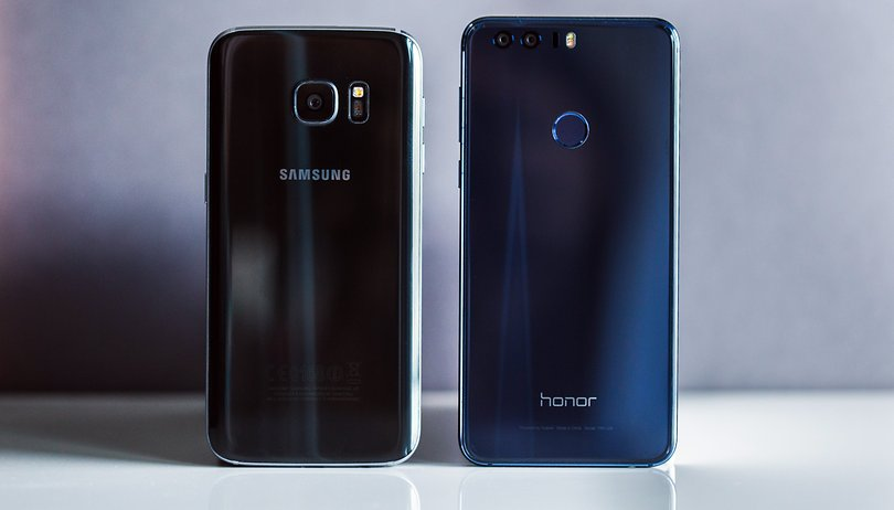 Honor 8 vs Samsung Galaxy S7: una sfida serrata