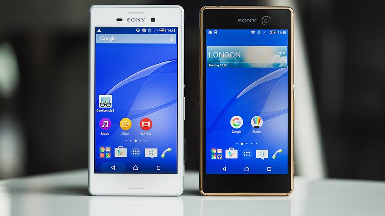 AndroidPIT sony xperia m5 vs sony xperia m4 1