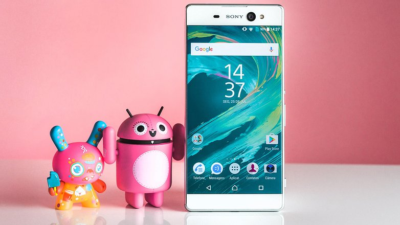 AndroidPIT sony xperia xa ultra review 2797