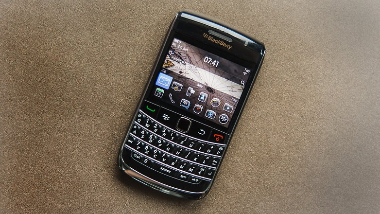 AndroidPIT Throwback Thursday Blackberry Bold 9700 3277