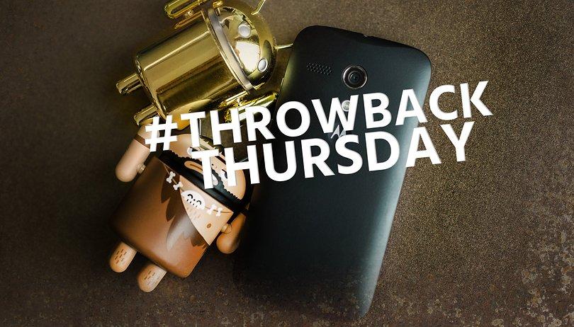 #ThrowbackThursday: El primer Moto G que nunca olvidaré