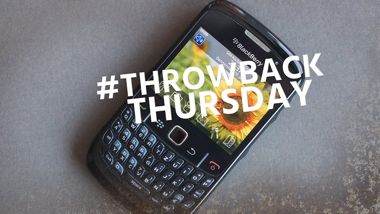 AndroidPIT blackberry curve 8520 throwback thursday