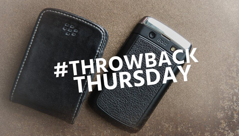 #Throwback Thursday: the BlackBerry Bold 9700 was a smart phone