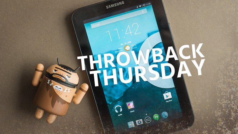 AndroidPIT throwback thursday samsung galaxy tab