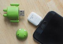 How to connect an external drive to your phone via USB