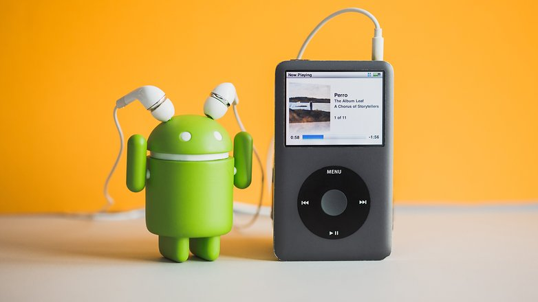 AndroidPIT iTunes on Android 3