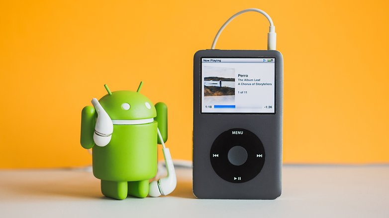 AndroidPIT iTunes on Android 4