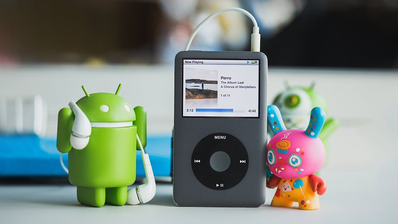 AndroidPIT iTunes on Android 5