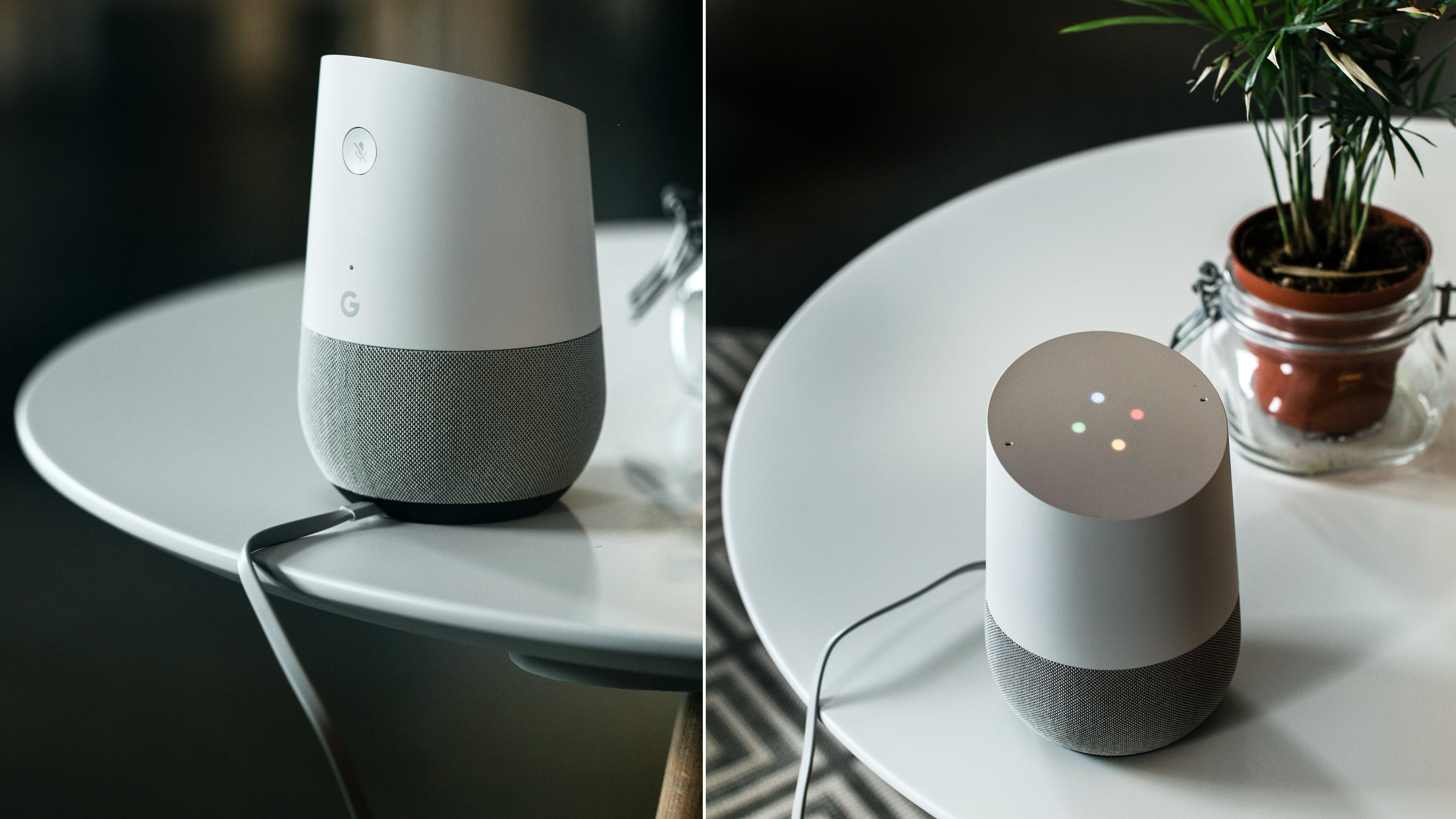 on a essay l 39 enceinte connect e google home tests d. Black Bedroom Furniture Sets. Home Design Ideas