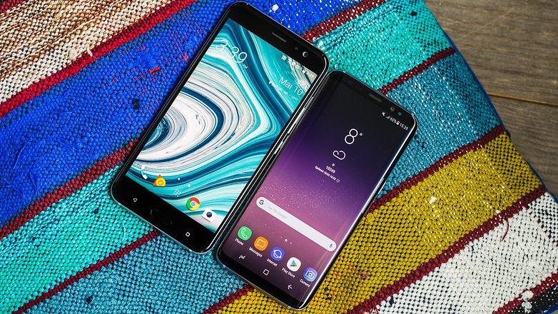 AndroidPIT HTC U 11 VS Samsung S8 4841