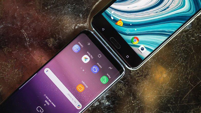 AndroidPIT HTC U 11 VS Samsung S8 4856