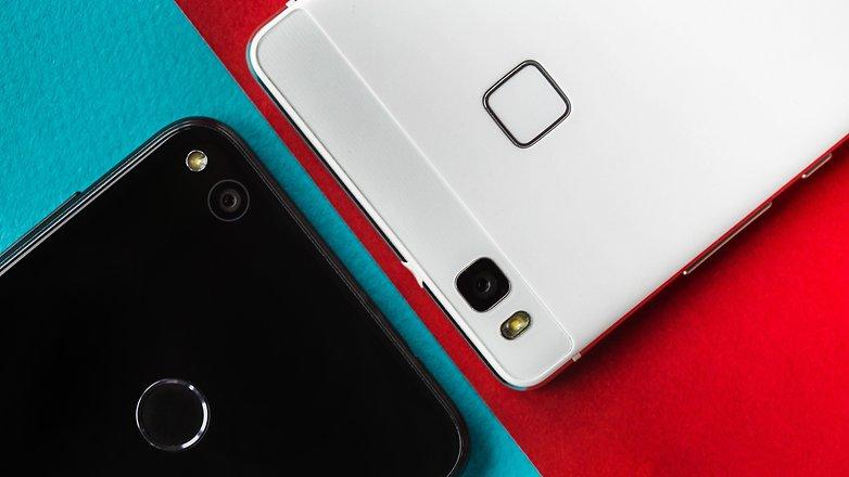 AndroidPIT Huawei P8 Lite 2017 vs P9 Lite 9656