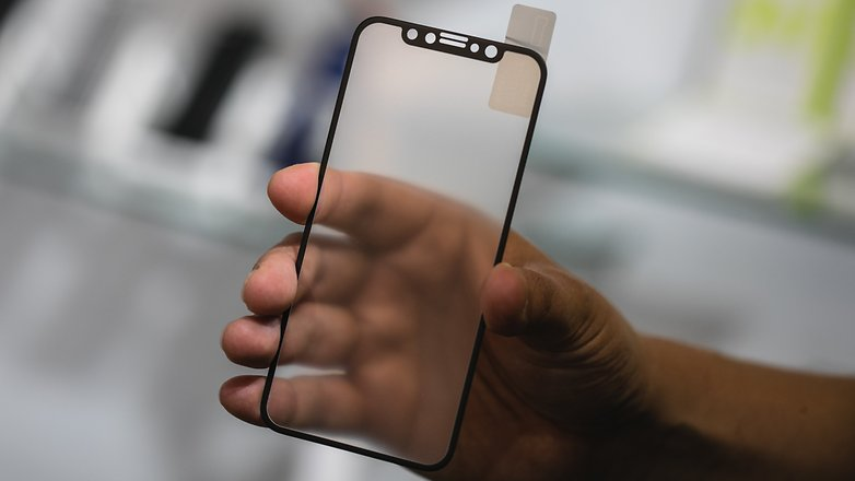 AndroidPIT iPhone8 glass protection 9420
