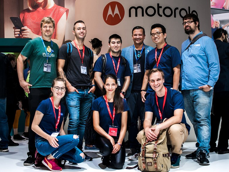 AndroidPIT IFA Reporters powered by motorola 0120