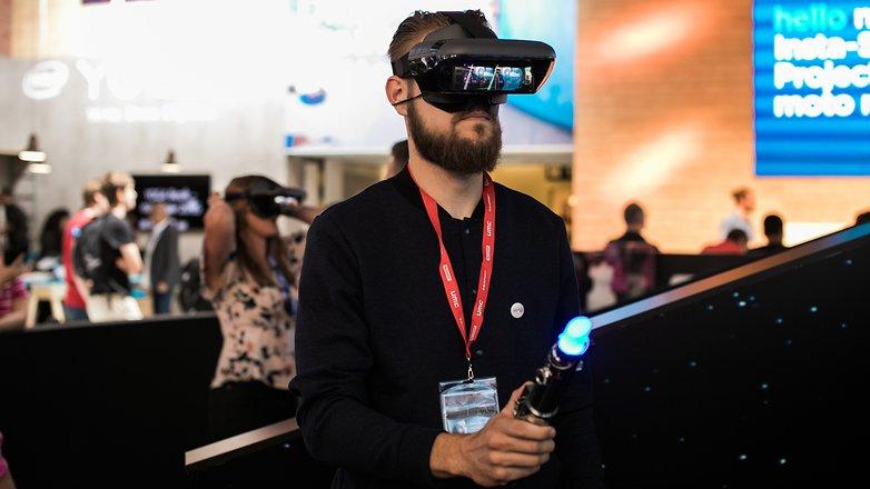 AndroidPIT Lenovo VR Star Wars Jedi Challenges 9525