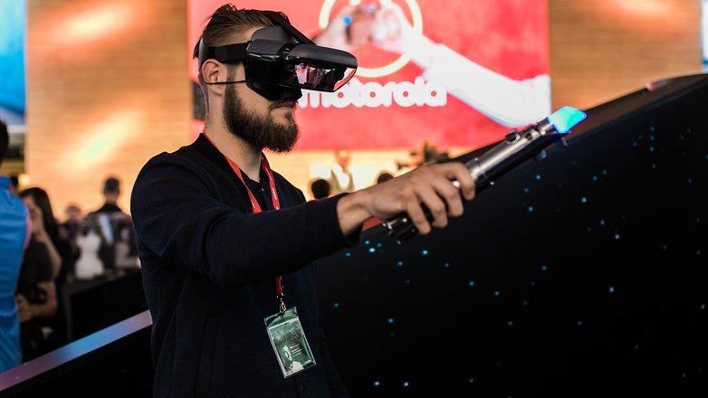 AndroidPIT Lenovo VR Star Wars Jedi Challenges 9526