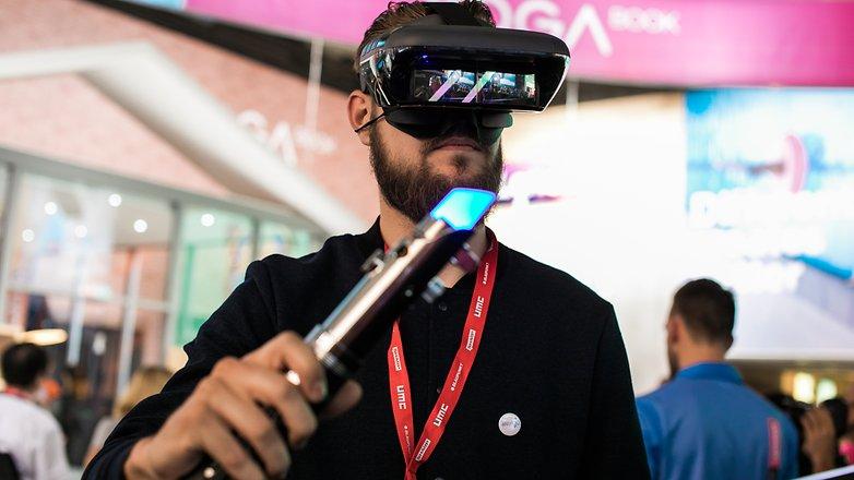 AndroidPIT Lenovo VR Star Wars Jedi Challenges 9537