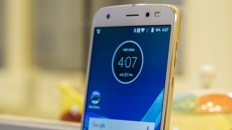 Motorola Moto Z2 Force im Hands-on: Modular, bruchfest und ...