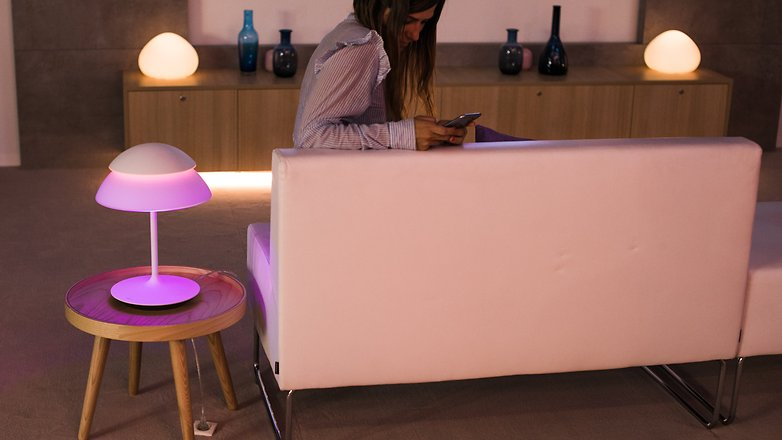 AndroidPIT philips hue smart home smart lights 9464