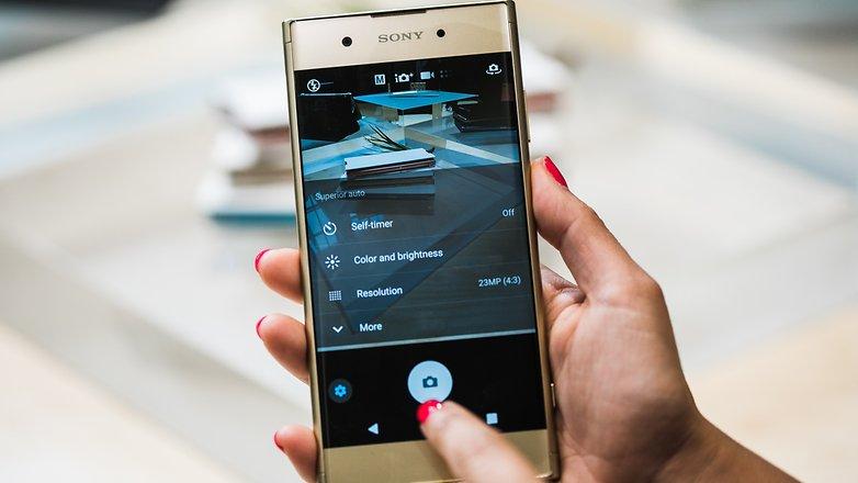 AndroidPIT SONY XZ1 Plus 8797