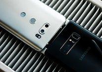 Samsung Galaxy Note 8 vs LG V30: Lucha reñida por ser el primero