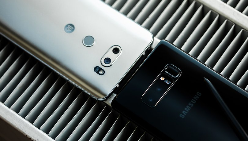 Samsung Galaxy Note 8 vs LG V30: A tight race for the lead