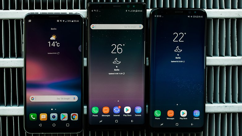 AndroidPIT glaxy note 8 vs lg v 30 vs s8 9994