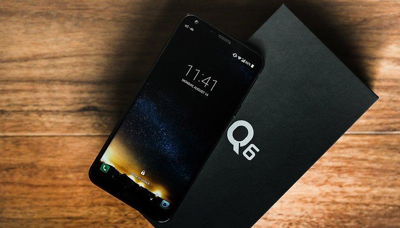 Com Q6 e Q6+, a LG está de volta no jogo dos intermediários