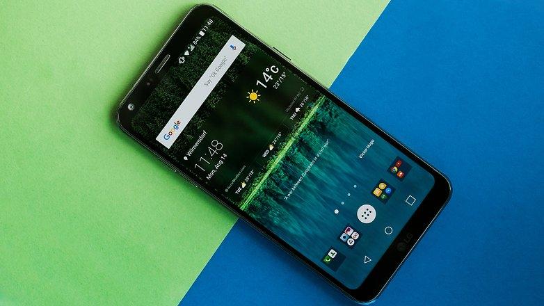 Os melhores smartphones com TV digital - Winew lg q6 7154