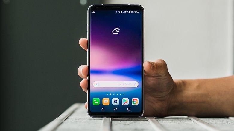 AndroidPIT LG V30 0556