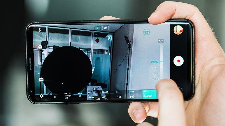 AndroidPIT lg v30 camera log video 9088