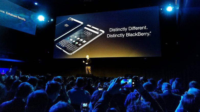 AndroidPIT BlackBerry KEYone MWC 2017