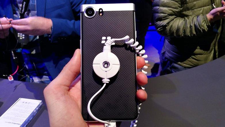 AndroidPIT BlackBerry KEYone back 2