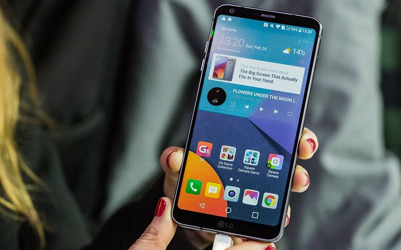 AndroidPIT LG G6 Hands on MWC 2017 5805