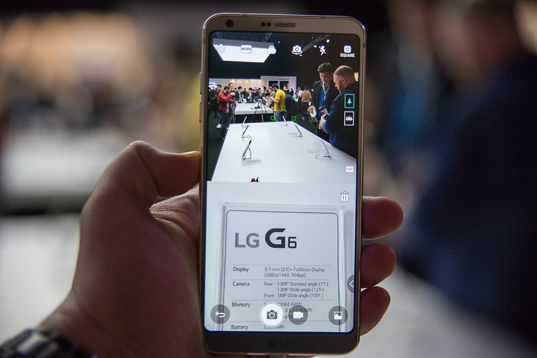 AndroidPIT LG G6 Hands on MWC 2017 7090