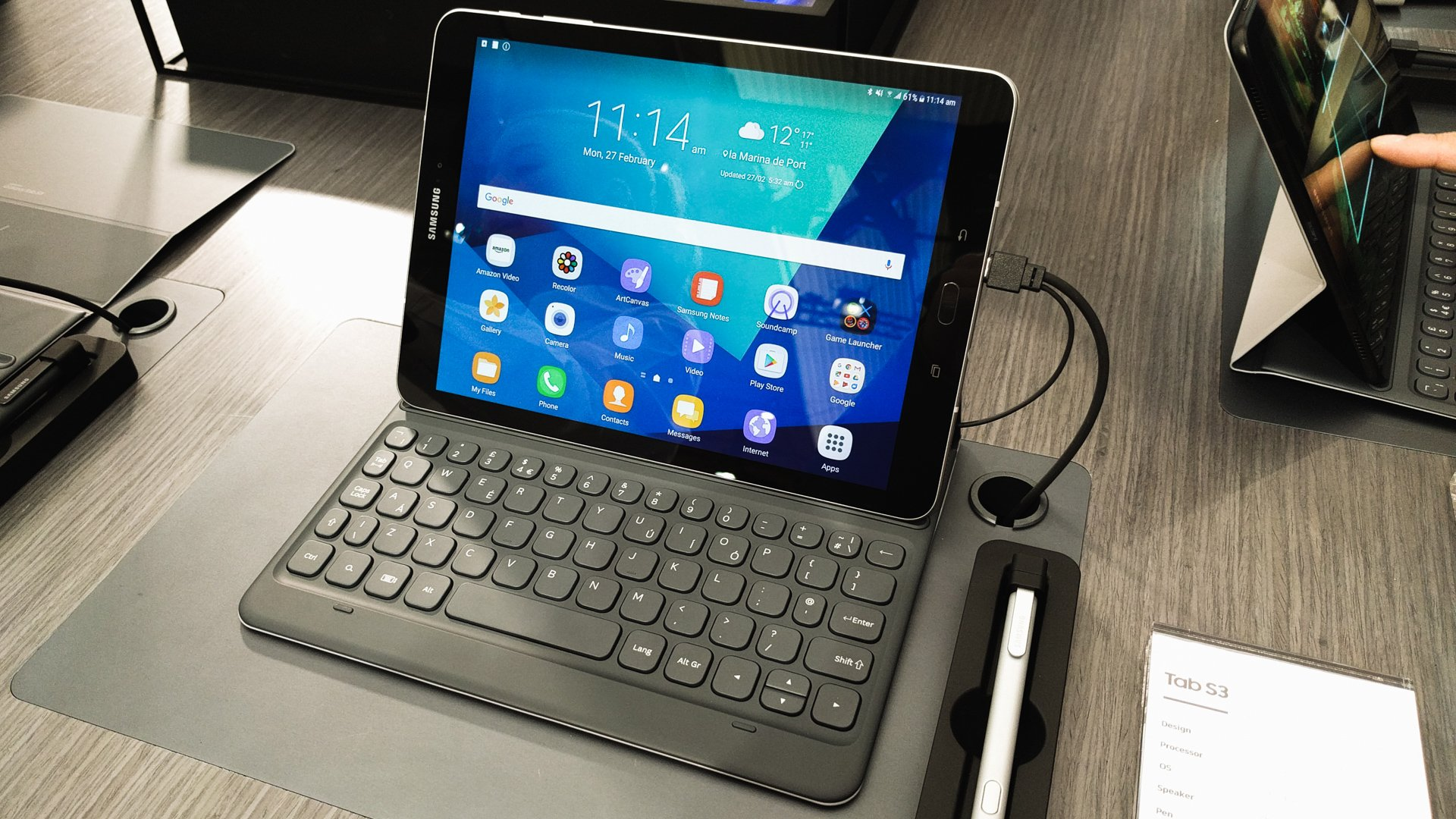 samsung galaxy tab s3 review a near perfect work tool hardware reviews androidpit. Black Bedroom Furniture Sets. Home Design Ideas