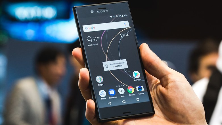 AndroidPIT Sony XZs MWC 2017 7